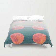 Moons Duvet Cover