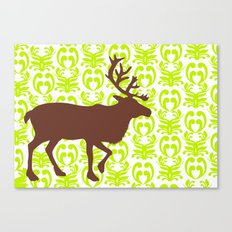 Reindeer art Canvas Print