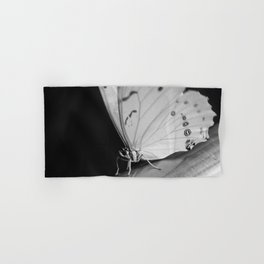 Papillon B/W Hand & Bath Towel