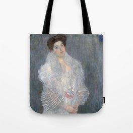 Gustav Klimt - Portrait of Hermine Gallia Tote Bag
