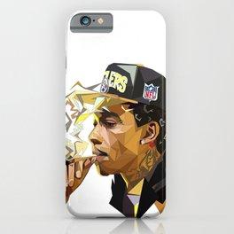 Hip-hop cubism iPhone Case