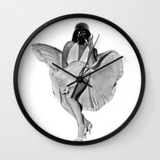 Provocative Vader Wall Clock
