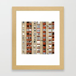 Belgrade | Takovska | color Framed Art Print
