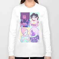 sweater Long Sleeve T-shirts featuring Sweater Gems by enerjax