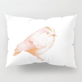 Goldcrest (Regulus regulus) - orange and yellow Pillow Sham