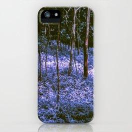 Purple Forest Dream iPhone Case