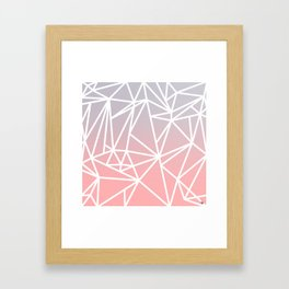 Gradient Mosaic 1 Framed Art Print