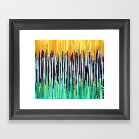 ::  Anniversary  :: Framed Art Print