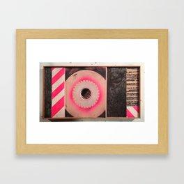 sound barrier  Framed Art Print