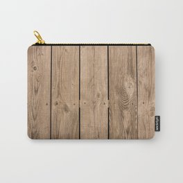 Wood I Carry-All Pouch