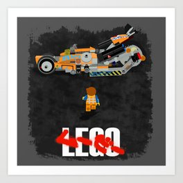 Everything is Awesome in Neo Tokyo Art Print