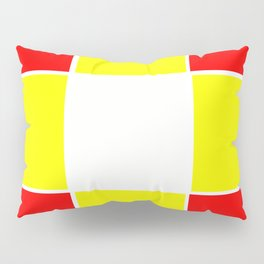 Team Colors 3....yellow ,red Pillow Sham