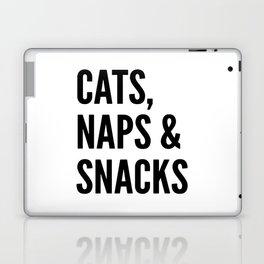 Cats, Naps & Snacks Laptop & iPad Skin