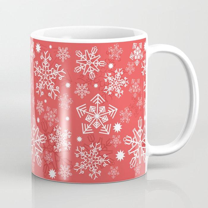 Christmas Snowflakes.Christmas Snowflakes Coffee Mug By Jelomesina