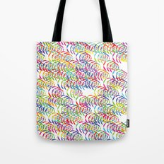 Candy Spirals Tote Bag