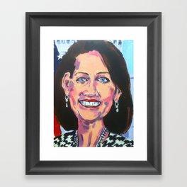 Taliban Republican: Michele Bachmann Framed Art Print