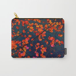 furious red leaves Carry-All Pouch
