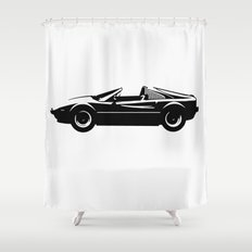 Exotic Sportscar Design by Bruce Gray Shower Curtain