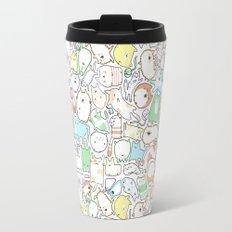 Doodle Cats Travel Mug