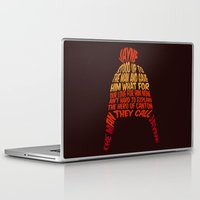 hat Laptop & iPad Skins featuring Jayne Hat by Nana Leonti