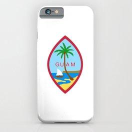 Guam design for Men & Women iPhone Case