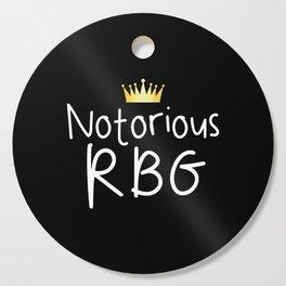 Notorious RBG Cutting Board
