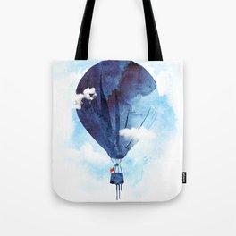 Bye Bye Balloon Tote Bag