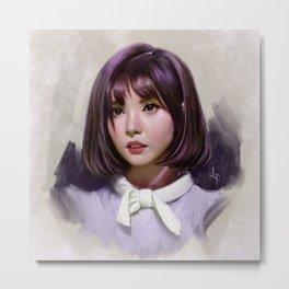 Portait of Eunha Metal Print