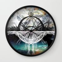 discount Wall Clocks featuring TwoWorldsofDesign by J.Lauren