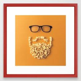 That Movie Beard Framed Art Print