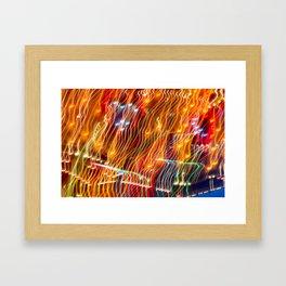 Amusement Theory Framed Art Print