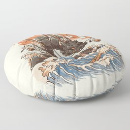 Great Sushi Dragon Floor Pillow