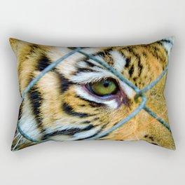 Fenced Fury Rectangular Pillow