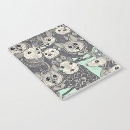 sweater mice mint Notebook