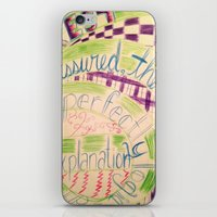 gravity falls iPhone & iPod Skins featuring Gravity Falls Quote by writingoverashes