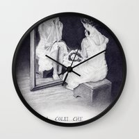 gift card Wall Clocks featuring Gift by ClaM