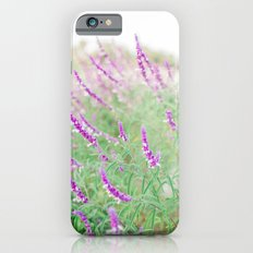 Purple Flowers iPhone 6s Slim Case