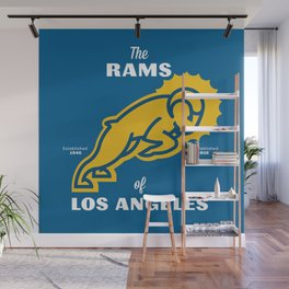 LA Rams Wall Mural