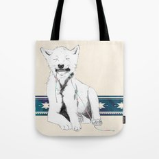 Baby wolf Tote Bag