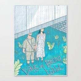 Days of Being Wild Canvas Print