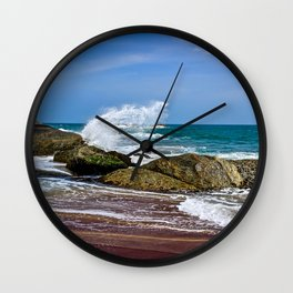 Beaches of Sri Lanka Wall Clock