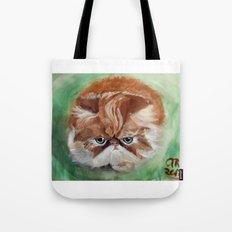 Grumpy Persian Tote Bag