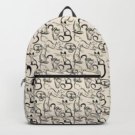 Sketch Cats Backpack