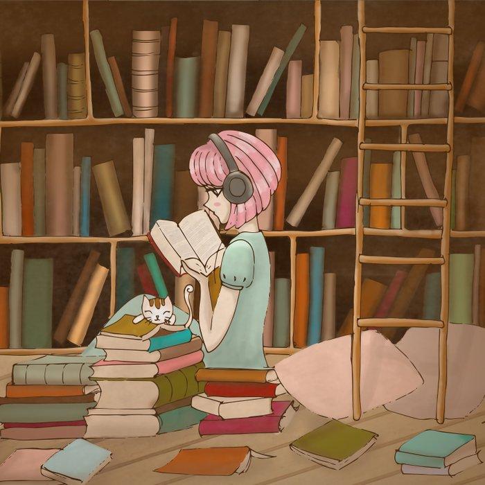 I Love Books Duvet Cover