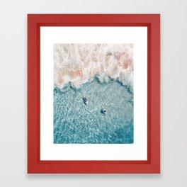 Pink Foam Framed Art Print