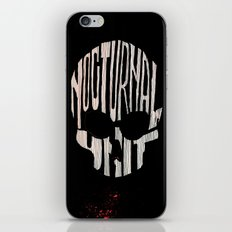NU skull iPhone & iPod Skin