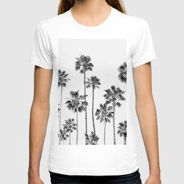 Black & White Palms 3 T-shirt