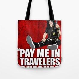SLASH Quote Tote Bag