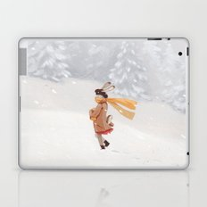 Snow storm Laptop & iPad Skin
