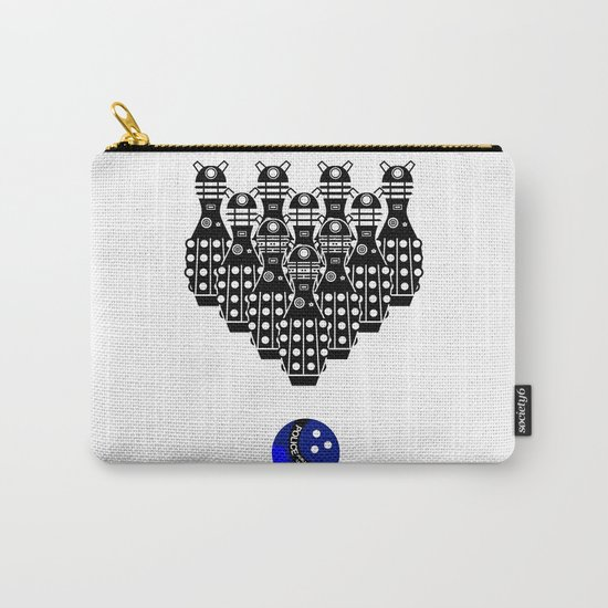 Time for Bowling. Doctor Who. Carry-All Pouch